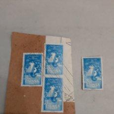 Sellos: SELLOS ESPAÑA CENTENARIO TELÉGRAFO 1955. Lote 195379263