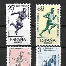 Sellos: DEPORTES. ESPAÑA. EMIS. 7-10-1962. Lote 195425055