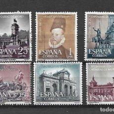 Sellos: MADRID CAPITAL. ESPAÑA. EMIT. 13-11-1961. Lote 195425955