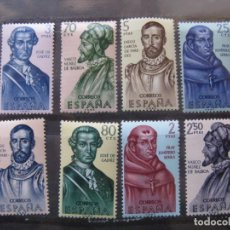Sellos: +1963,FORJADORES DE AMERICA, EDIFIL 1526/33. Lote 195465790