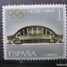 Sellos: +1965 LXIII ASAMBLEA COMITE OLIMPICO INTERNACIONAL, EDIFIL 1677. Lote 195501403