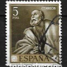 Selos: ESPAÑA,1963,RIBERA,EDIFIL 1506,USADO. Lote 195532217