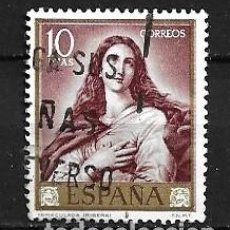 Selos: ESPAÑA,1963,RIBERA,EDIFIL 1507,USADO. Lote 195532426
