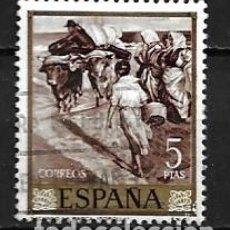 Sellos: ESPAÑA,1964,SOROLLA,EDIFIL 1574,USADO. Lote 195533203