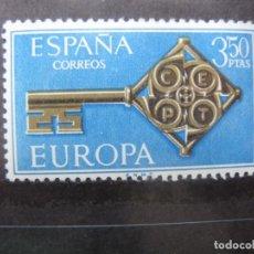 Sellos: +1968, EUROPA, EDIFIL 1868. Lote 195537797