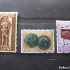 Sellos: +1968,XIX CENT.LEGIO VII GEMINA,FUNDADORA DE LEON, EDIFIL 1871/73. Lote 195539101