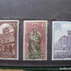 Sellos: +1968, MONASTERIO DE STA. MARIA DEL PARRAL, EDIFIL 1894/96. Lote 195539923