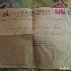 Sellos: SOBRE GRAN FORMATO CASER SEGUROS MATASELLOS SOBRE INTEGRACION MINUSVALIDOS SOCIEDAD MINUSVAL74SVA. Lote 195916287