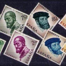 Sellos: SELLOS DE ESPAÑA AÑO 1958 CARLOS I , SELLOS NUEVOS**. Lote 196200797