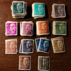 Sellos: 130 SELLOS DE FRANCO USADOS. Lote 196659740