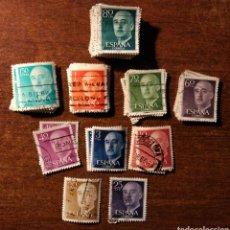 Sellos: 128 SELLOS DE FRANCO USADOS. Lote 196665827