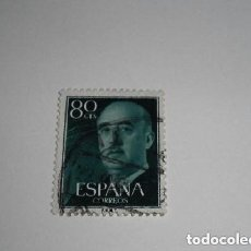 Sellos: ESPAÑA SELLO DE FRANCO DE 80 CÉNTIMOS. Lote 197483378