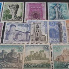 Sellos: SELLOS DE ESPAÑA NUEVOS AÑO 1967 EDIF. 1801/16 C103. Lote 197539983