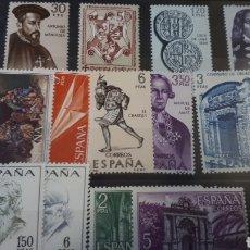 Sellos: SELLOS DE ESPAÑA NUEVOS AÑO 1966 EDIF. 1749/1766 C112. Lote 197559478