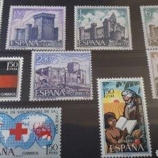 Sellos: SELLOS DE ESPAÑA NUEVOS AÑO 1969 EDIFIL 1924/32 C116. Lote 197563172