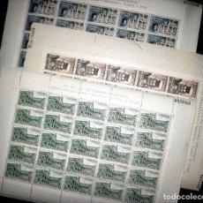 Francobolli: ESTADO ESPAÑOL I. ED. 1686/88 EN 3 PLIEGOS DE 25 SELLOS./ MONASTERIO DE YUSTE.. Lote 197691346