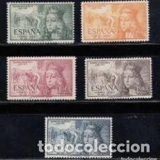 Timbres: SELLOS EDIFIL 1097-1101 SERIE ** AEREOS ISABEL LA CATOLICA. Lote 199938248