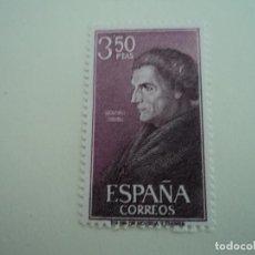 Sellos: ESPAÑA PERSONAJES ESPAÑOLES - JOSÉ DE ACOSTA. (1967). Lote 198311863