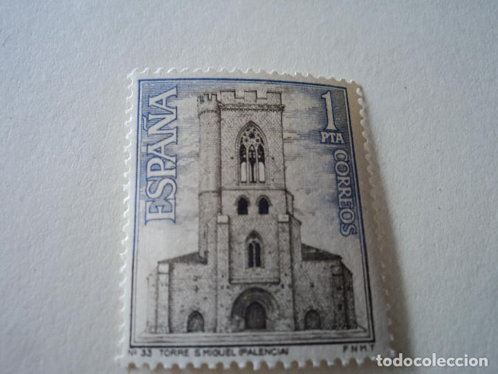 ESPAÑA 1967 PALENCIA, TORRE SAN MIGUEL, EDIFIL 1803 (Sellos - España - II Centenario De 1.950 a 1.975 - Nuevos)