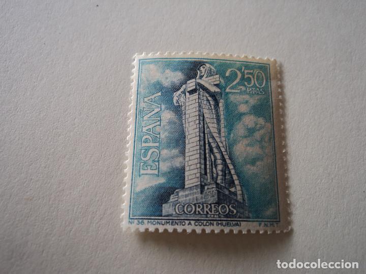 EDIFIL 1805. SERIE TURÍSTICA - MONUMENTO A COLÓN, HUELVA. (1967) (Sellos - España - II Centenario De 1.950 a 1.975 - Nuevos)