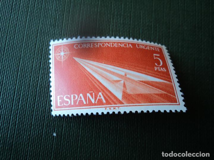 EDIFIL 1765 CORRESPONDENCIA URGENTE 5 PTS 1966 (Sellos - España - II Centenario De 1.950 a 1.975 - Nuevos)