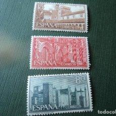 Sellos: 1959 MONASTERIO GUADALUPE EDIFIL 1250/52. Lote 198595788