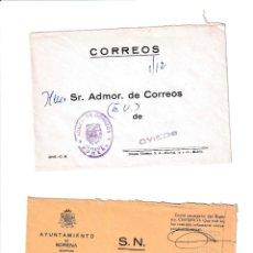 Sellos: NOREÑA. ASTURIAS SOBRE CON MARCA DE FRANQUICIA.. Lote 199287956