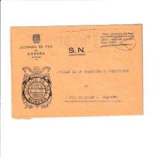 Sellos: NOREÑA. ASTURIAS SOBRE CON MARCA DE FRANQUICIA.. Lote 199287966