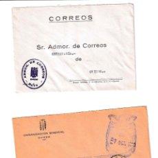 Sellos: NAVA. ASTURIAS SOBRE CON MARCA DE FRANQUICIA.. Lote 199288496