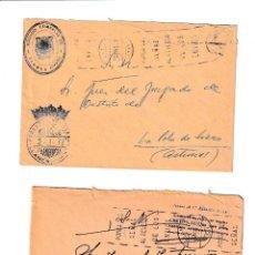 Sellos: LLANES. ASTURIAS SOBRE CON MARCA DE FRANQUICIA.. Lote 199289085