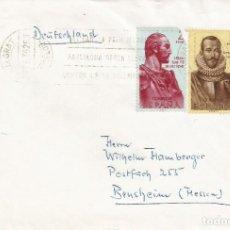 Sellos: 1962-MALGRAT-BENSHEIM(HESSEN). Lote 201181985