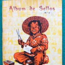 Sellos: ÁLBUM DE SELLOS DE LA SANTA INFANCIA. 1963. Lote 202591418