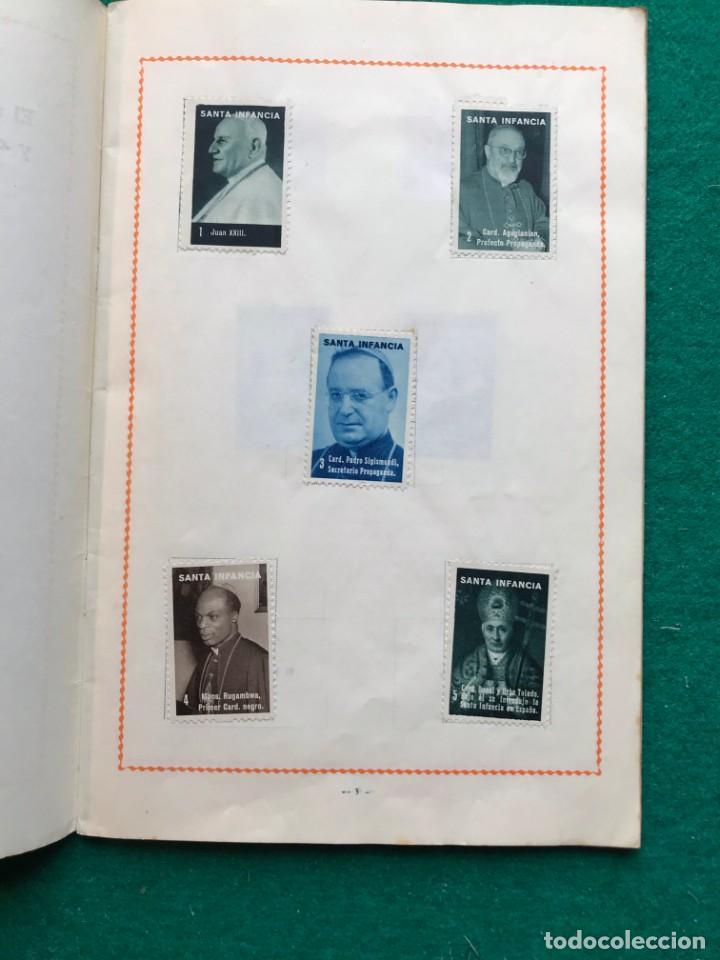Sellos: álbum de sellos de la santa infancia. 1963 - Foto 2 - 202591418