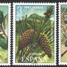 Selos: ESPAÑA,1972 EDIFIL Nº 2085 / 2089 /**/, FLORA. Lote 202612698