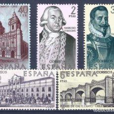 Sellos: EDIFIL 1939-1943 FORJADORES DE AMÉRICA 1969. (SERIE COMPLETA). MNH **. Lote 234027620