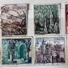 Sellos: ESPAÑA 1964, 8 SELLOS USADOS DIFERENTES. Lote 202976046