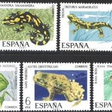 Selos: ESPAÑA, 1975 EDIFIL Nº 2272 / 2276 /**/, FAUNA HISPÁNICA. Lote 203303142