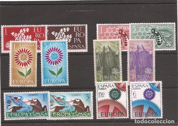 SELLOS DE ESPAÑA AÑOS 1961 , 62 , 64 , 65 Y 1966 EUROPA SELLOS NUEVOS** (Sellos - España - II Centenario De 1.950 a 1.975 - Nuevos)