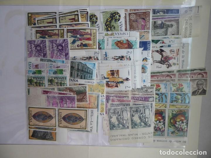 ESPAÑA , SELLOS ,AÑO 1975 COMPLETO EN PAREJAS, S/CH, (Sellos - España - II Centenario De 1.950 a 1.975 - Nuevos)