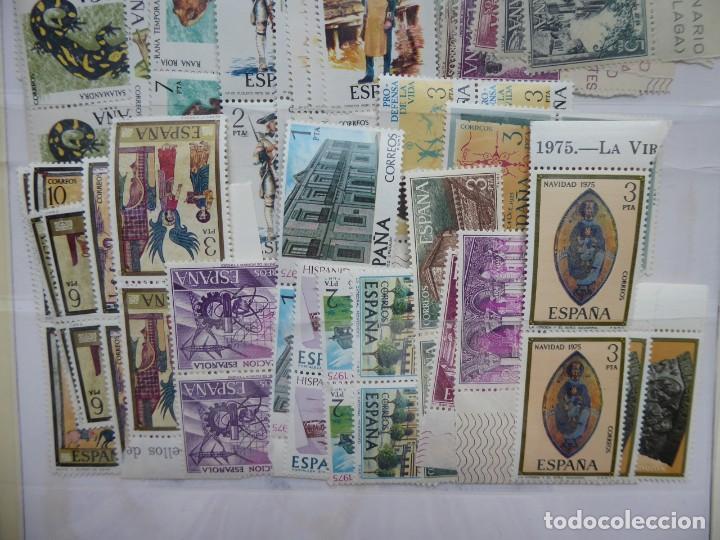 Sellos: españa , sellos ,año 1975 completo en parejas, s/ch, - Foto 3 - 204123041