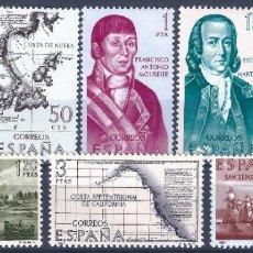 Sellos: EDIFIL 1819-1826 FORJADORES DE AMÉRICA 1967. (SERIE COMPLETA). MNH **. Lote 204276496