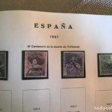 Sellos: ESPAÑA 1961 EDIFIL 1340/3 USADO. Lote 205282400