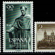 Sellos: ESPAÑA 1953 - EDIFIL 1126/1128 (**). Lote 205313715