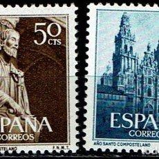 Sellos: ESPAÑA 1954 - EDIFIL 1130/1131. Lote 205319726