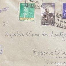 Sellos: ESPAÑA: CARTA CIRCULADA EN 1958. Lote 205654050
