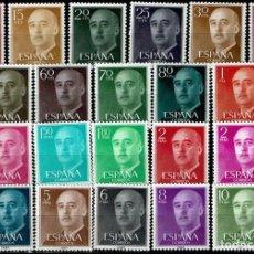 Sellos: ESPAÑA 1955-56 - EDIFIL 1143/1163 (**) COMPLETA. Lote 205669890