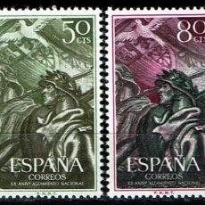 Sellos: ESPAÑA 1956 - EDIFIL 1187/1190 (**). Lote 205720625