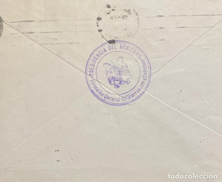 Sellos: ESPAÑA: CARTA CIRCULADA AÑO 1952 - Foto 2 - 205881003