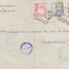 Sellos: ESPAÑA: CARTA CIRCULADA AÑO 1956. Lote 205881700