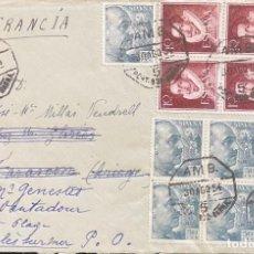 Sellos: ESPAÑA: CARTA CIRCULADA EL AÑO 1954. Lote 205882941